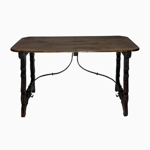 Antique Spanish Coffee Table, 1800s