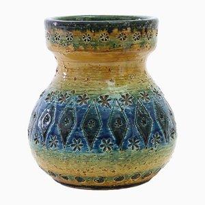 Vase Vintage par Aldo Londi pour Bitossi, Italie