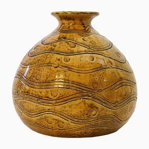 Dänische Art Deco Vase von HA Kähler für Kähler