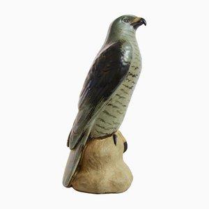Vintage Danish Ceramic Sparrowhawk by Niels Nielsen for Bing & Grøndahl