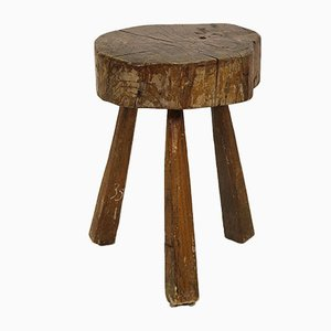 Tree Trunk Stool, 1950s