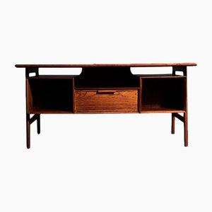 Modell 75 Schreibtisch aus Palisander von Omann Jun, 1960er