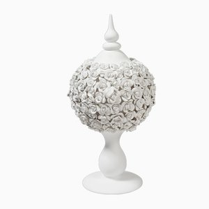 Ceramic Coco Camelie Ball Stand by Marco Segantin for VGnewtrend