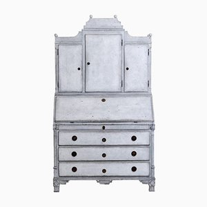 Antique Gustavian Two Part Bureau
