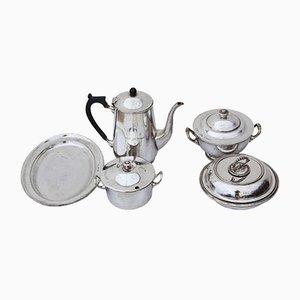 Set de Vaisselle Antique Plaqué Argent
