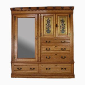 Antique Ash Wardrobe from Edwards & Roberts