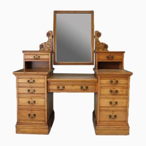 Antique Ash Dressing Table from Edwards & Roberts