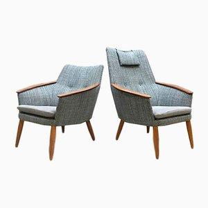 Niederländische Vintage Sessel von Madsen & Schubell für Bovenkamp, 2er Set