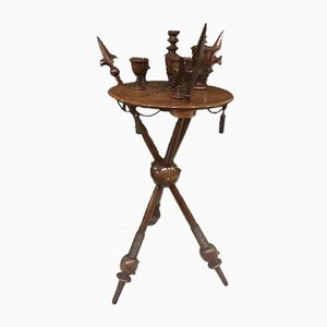 Antique Smoking Table