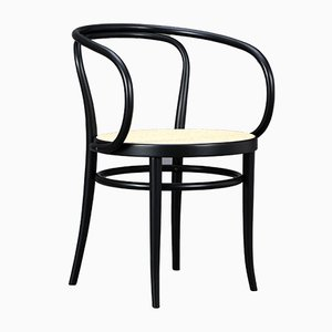 Model 209 Black Bentwood Armchair from Thonet, 1977