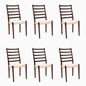 Swedish Rosewood Dining Chairs by Svegards Markaryd, 1960s, Set of 6