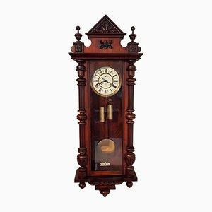 German Wall Clock from Gustav Becker, 1880s