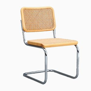 S32 Beech Cantilever Chair by Marcel Breuer for Thonet, 1980s