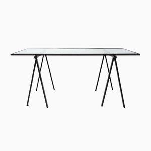 Tavolo modernista di Rodney Kinsman per Bieffeplast, anni '70