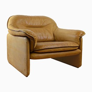 Cognac Leather Model DS16 Chair from de Sede, 1970s