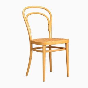 Modell 214 Stuhl aus Bugholz von Thonet, 1984