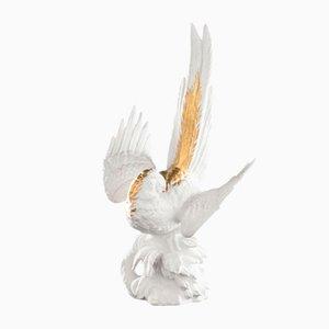 Scultura Papagena in ceramica di Marco Segantin per VGnewtrend, Italia