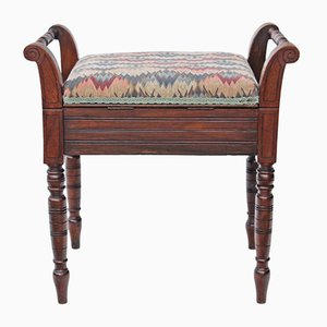 Antique Edwardian Mahogany Stool