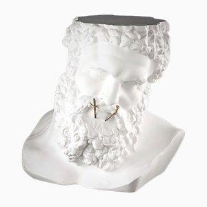 Busto Ercules Non Parlo in ceramica di Marco Segantin per VGnewtrend