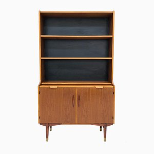 Mid-Century Model Fylka Teak Bookcase from Hugo Troeds, 1950s