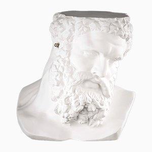 Italian Ceramic Non Sento Hercules Bust by Marco Segantin for VGnewtrend