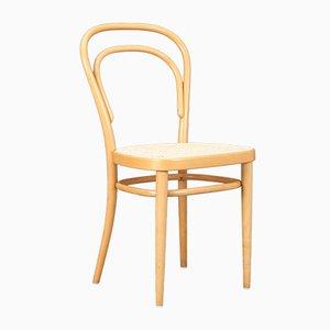 Modell 214 Stuhl aus Bugholz von Thonet, 1987