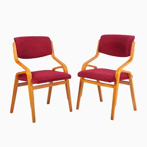 Side Chairs by Ludvik Volak, 1970s, Set of 2