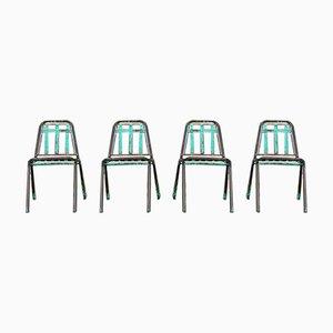Chaises de Jardin Vintage, 1970s, Set de 4