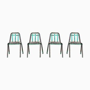 Vintage Garden Chairs, 1970s, Set of 4