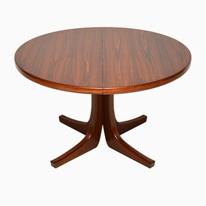 Danish Rosewood Extending Dining Table, 1960s