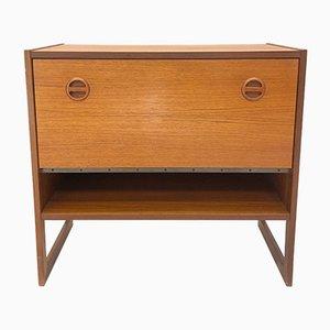 Mueble de gramófono Domino escandinavo de Arne Wahl Iversen para IKEA, años 60
