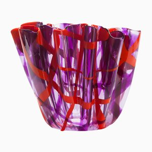 Tartan Vase by Paola Navone for Corsi Design Factory