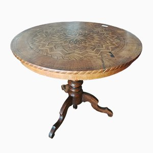 Antique Pedestal Dining Table