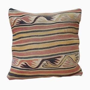 Fodera arancione di Vintage Pillow Store Contemporary