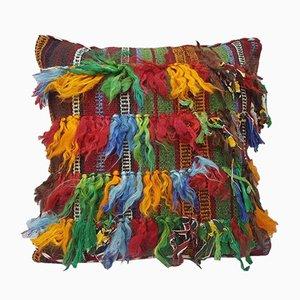 Zotteliger Kissenbezug aus Teppichstoff von Vintage Pillow Store Contemporary