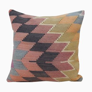 Faded Kilim Rug Pillow Cover from Vintage Pillow Store Contemporary