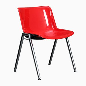 Sedia da sala modello Mode vintage di Osvaldo Borsani per Tecno