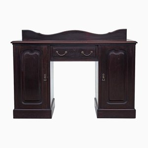 Antique Late Victorian Mahogany Desk