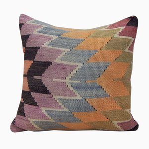 Funda de cojín Kilim descolorida de Vintage Pillow Store Contemporary