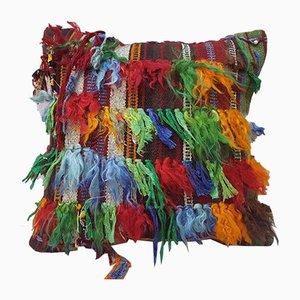 Housse de Coussin Shaggy Multicolore de Vintage Pillow Store Contemporary