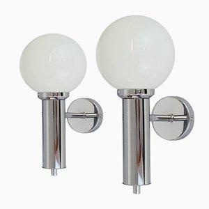 Italienische Wandlampen, 1970er, 2er Set