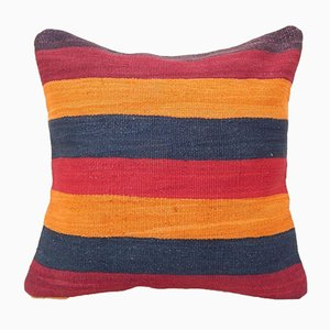 Federa Kilim a strisce di Vintage Pillow Store Contemporary