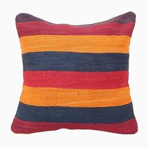 Housse de Coussin Kilim Rayée de Vintage Pillow Store Contemporary