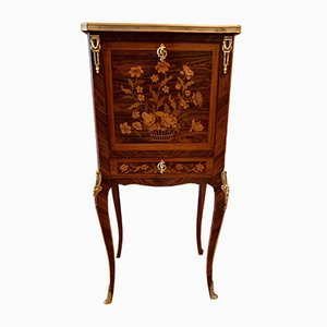 Antique Small Marquetry Secretaire
