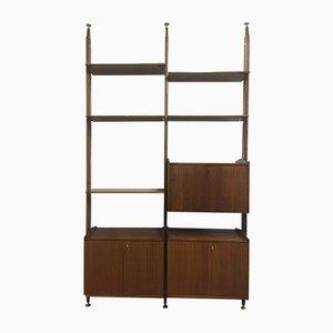 Modernist Italian Bookcase, 1950s