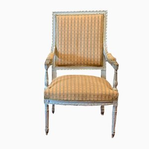 Antique Louis XVI-Style Lacquered Chair