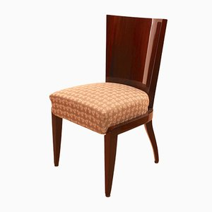 Art Deco Mahogany Veneer Dining Room Chair, 1930s