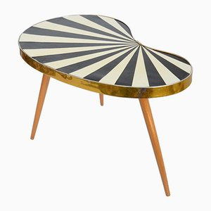 Table en Forme d'Haricot Mid-Century, Allemagne, 1950s