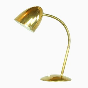 Brass Table Lamp by Vilhelm Lauritzen for Louis Poulsen, 1940s