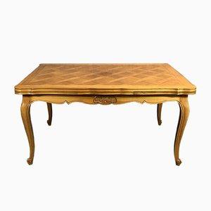 Tisch aus Kirschholz im Louis XV-Stil, 1960er
